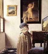 Lady Standing at a Virginal er, VERMEER VAN DELFT, Jan