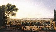 VERNET, Claude-Joseph The Town and Harbour of Toulon aer oil painting