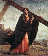 VIVARINI, family of painters Christ Carrying the Cross er oil painting