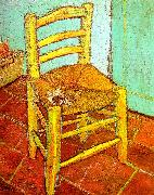 Artist's Chair with Pipe, Vincent Van Gogh
