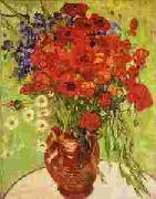 Red Poppies and Daisies, Vincent Van Gogh