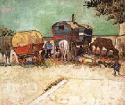 The Caravans, Vincent Van Gogh