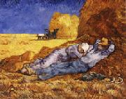 Vincent Van Gogh The Noonday Nap(The Siesta)