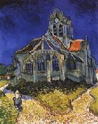 The Church of Auvers-sur-Oise, Vincent Van Gogh