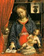 Vincenzo Foppa Madonna and Child with an Angel  k oil painting