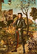 Vittore Carpaccio Portrait of a Knight oil painting artist