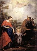 WIT, Jacob de Holy Family and Trinity oil painting