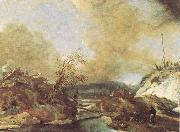 WOUWERMAN, Philips Dune Landscape qet oil painting