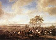 WOUWERMAN, Philips The Horse Fair  yuer6 oil painting