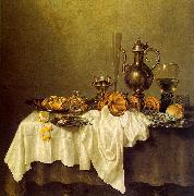 Willem Claesz Heda Breakfast of Crab oil painting