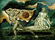 William Blake The Body of Abel Found by Adam and Eve oil painting