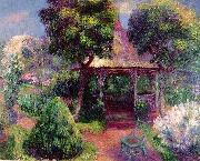 William Glackens Garden at Hartford oil painting