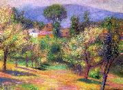 William Glackens Connecticut Landscape oil painting