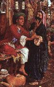 William Holman Hunt The Lantern Maker's Courtship oil painting