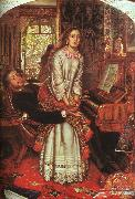 William Holman Hunt The Awakening Conscience oil painting