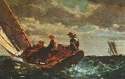 Breezing Up, Winslow Homer