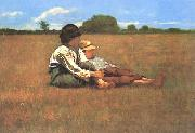 Boys in a Pasture, Winslow Homer