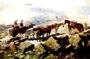 Winslow Homer Mt Washington oil painting reproduction