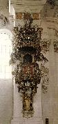 ZIMMERMANN, Dominikus Pulpit st oil painting