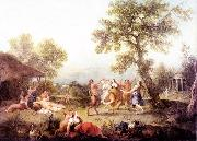 ZUCCARELLI  Francesco Bacchanal oil painting