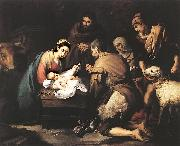 Adoration of the Shepherds zg, MURILLO, Bartolome Esteban