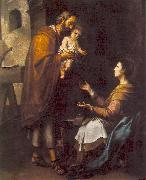 The Holy Family g, MURILLO, Bartolome Esteban