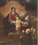 The Infant Jesus Distributing Bread to Pilgrims sg, MURILLO, Bartolome Esteban