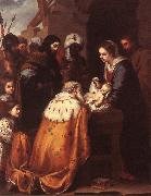 Adoration of the Magi sg, MURILLO, Bartolome Esteban