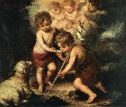 Children with Shell sg, MURILLO, Bartolome Esteban