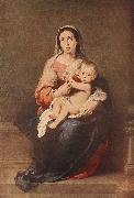 Madonna and Child eryt4, MURILLO, Bartolome Esteban