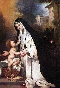 St Rose of Lima sg, MURILLO, Bartolome Esteban