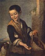 Boy with a Dog sgh, MURILLO, Bartolome Esteban