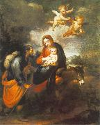 Flight into Egypt sg, MURILLO, Bartolome Esteban