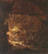 OSTADE, Isaack van Interior of a Peasant House nsg oil painting