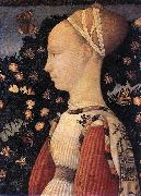 PISANELLO Portrait of a Princess of the House of Este  vhh oil painting artist
