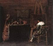 POT, Hendrick Gerritsz The Painter in his Studio sg oil painting reproduction