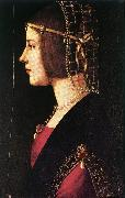 PREDIS, Ambrogio de Portrait of a Woman age oil painting