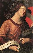RAFFAELLO Sanzio Angel (fragment of the Baronci Altarpiece) dg oil painting