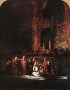Christ and the Woman Taken in Adultery, REMBRANDT Harmenszoon van Rijn