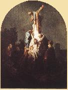 REMBRANDT Harmenszoon van Rijn Deposition from the Cross fgu USA oil painting reproduction