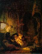 REMBRANDT Harmenszoon van Rijn Holy Family oil painting reproduction
