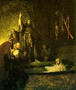REMBRANDT Harmenszoon van Rijn The Raising of Lazarus oil painting reproduction