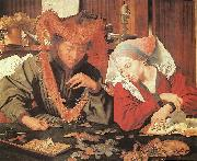 REYMERSWALE, Marinus van Money-Changer and his Wife oil painting reproduction