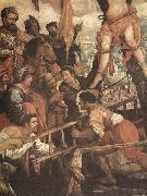 ROELAS, Juan de las The Martyrdom of St Andrew fj oil painting