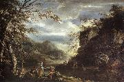 River Landscape with Apollo and the Cumean Sibyl  gq