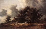 RUYSDAEL, Salomon van After the Rain tg oil painting
