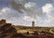 RUYSDAEL, Salomon van View of Egmond aan Zee f oil painting