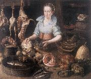 RYCK, Pieter Cornelisz van The Kitchen Maid AF USA oil painting reproduction