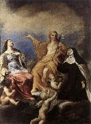 SACCHI, Andrea The Three Magdalenes DFY oil painting