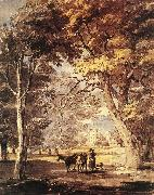 SANDBY, Paul Cow-Girl in the Windsor Great Park af oil painting